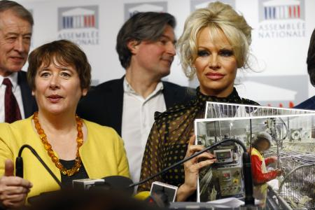 Laurence Abeille & Pamela Anderson