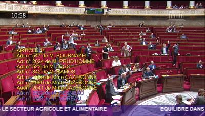 Exemple de vote lors de la première séance du samedi 26 mai 2018