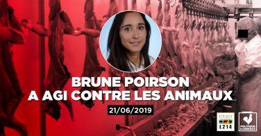 Logo Vaches à hublots: «des pratiques scientifiques et qui ne font pas souffrir l'animal» selon Brune Poirson