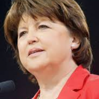 Photo Martine Aubry