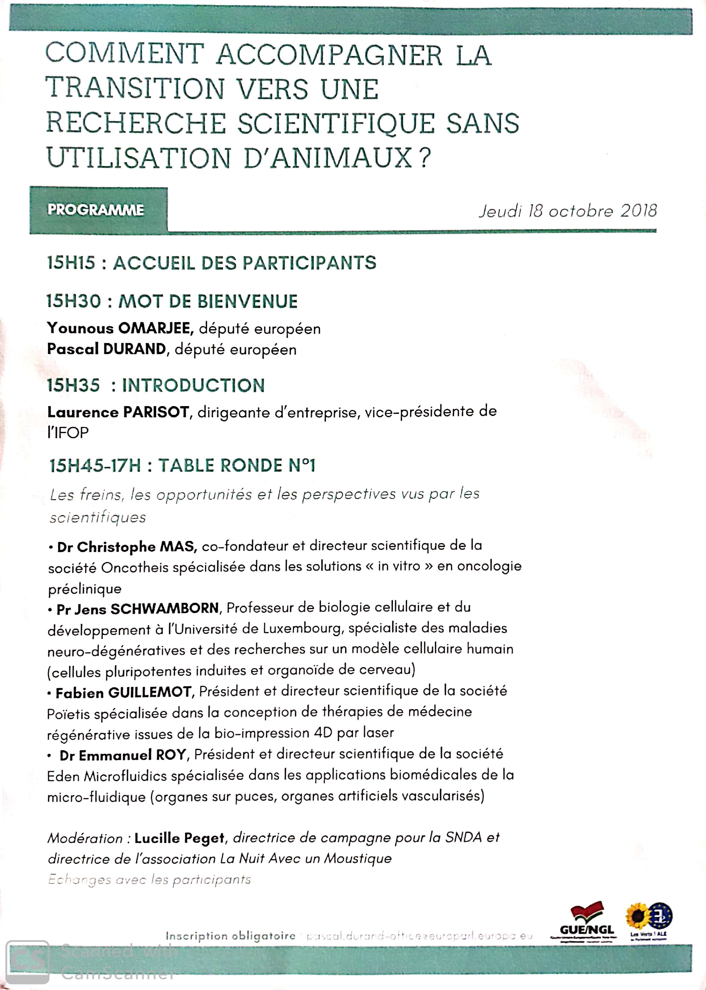 colloque transition EA